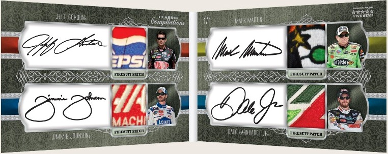 2010 Press Pass Five Star Racing 4