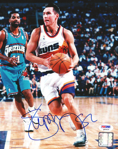 Steve Nash Rookie Cards and Autographed Memorabilia Guide 24