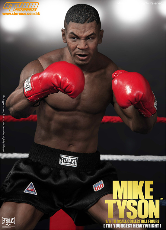 1//6 Scale Action Figure Stand Mike Tyson Michael Tyson