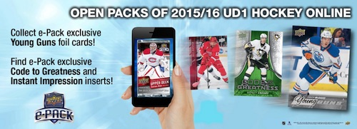 Upper Deck e-Pack Guide - 2015-16 UD Series 2 Out Now 2