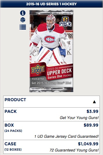 Upper Deck e-Pack Guide - 2015-16 UD Series 2 Out Now 3