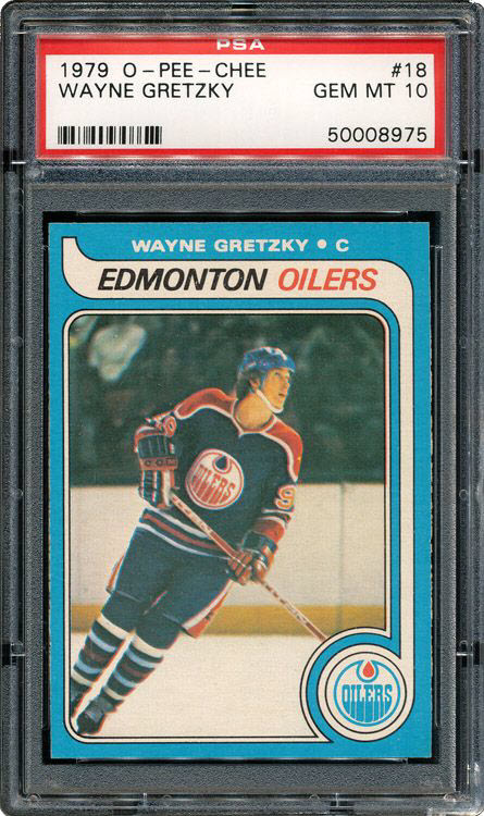 Wayne Gretzky PSA 10 Rookie Card Sets New Record 2
