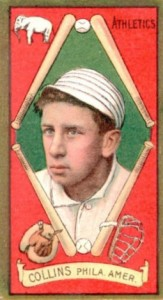 1911 T205 Piedmont Eddie Collins Red