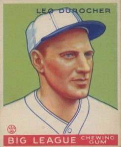 Top 10 Leo Durocher Baseball Cards 10