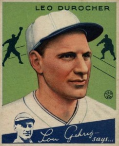 Top 10 Leo Durocher Baseball Cards 11