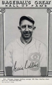 1948 Exhibit Hall of Fame Eddie Collins #8