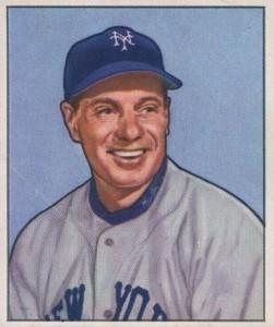 1950 Bowman Leo Durocher #220