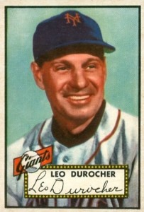 Top 10 Leo Durocher Baseball Cards 9