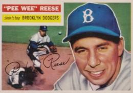 1956 Topps Pee Wee Reese #260