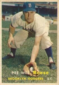 1957 Topps Pee Wee Reese #30