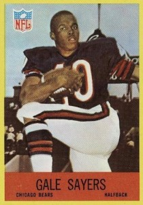 Top 10 Gale Sayers Football Cards 6