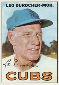 1967 Topps Leo Durocher #481
