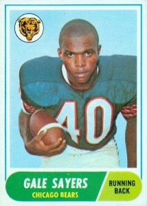 1968 Topps Gale Sayers RC #75