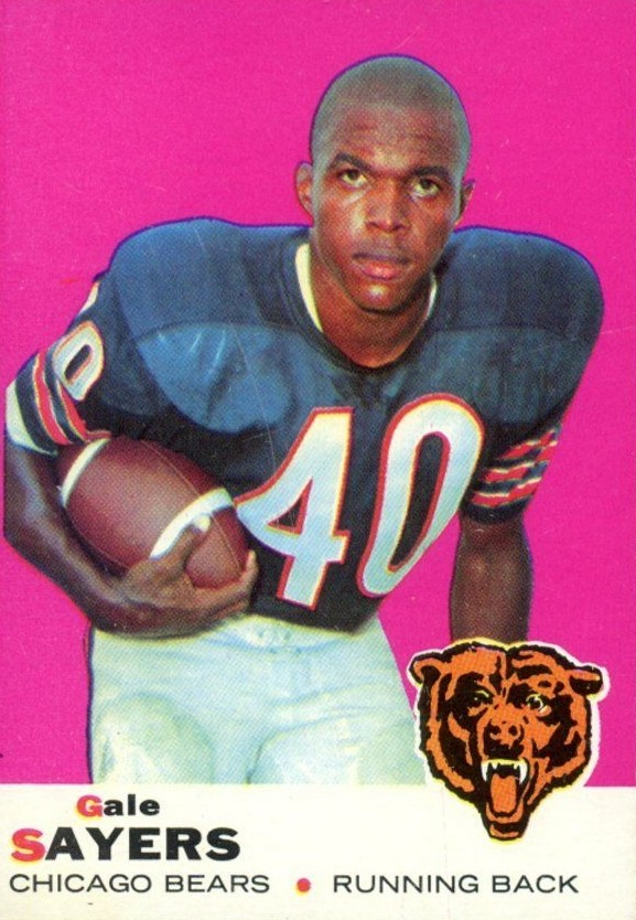 Top 10 Gale Sayers Football Cards 8