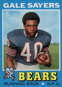 Top 10 Gale Sayers Football Cards 4