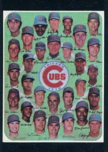 1971 Topps Leo Durocher, Cubs Team #502