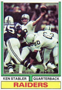 The Snake Enters the Hall of Fame! Top 10 Ken Stabler Football Cards 9