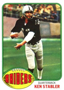 The Snake Enters the Hall of Fame! Top 10 Ken Stabler Football Cards 6