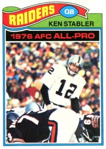 The Snake Enters the Hall of Fame! Top 10 Ken Stabler Football Cards 3