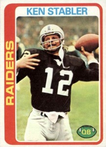 The Snake Enters the Hall of Fame! Top 10 Ken Stabler Football Cards 2