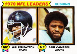 1979 Topps Walter Payton, Earl Campbell #3