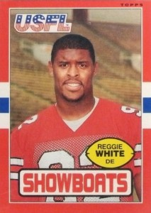 1985 Topps USFL Reggie White #75