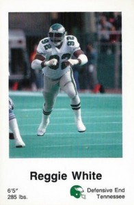 1987 Philadelphia Eagles Police Reggie White
