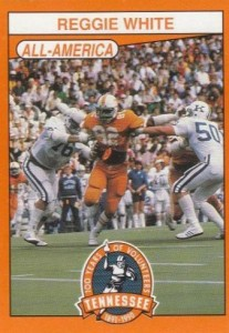 1990 100 Years of Tennessee Volunteers Reggie White #169