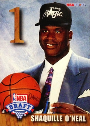 Shaquille O'Neal Rookie Card Checklist and Gallery 10