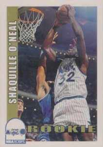 1992-93 Hoops Shaquille O'Neal Rookie Card RC #442
