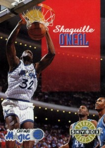 1992-93 SkyBox Shaquille O'Neal Rookie Card RC #382 SP
