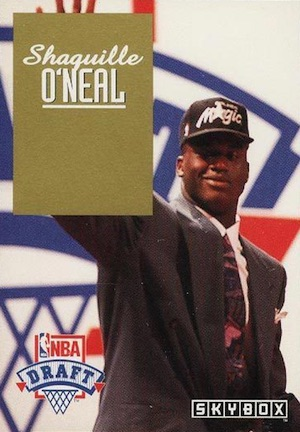 Shaquille O'Neal Rookie Card Checklist and Gallery 11