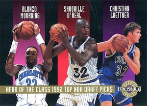 Shaquille O'Neal Rookie Card Checklist and Gallery 12