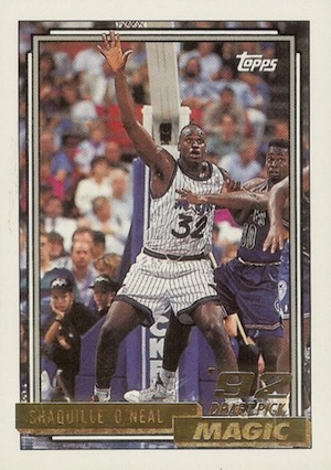 Shaquille O'Neal Rookie Card Checklist and Gallery 6
