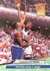 1992-93 Ultra Shaquille O'Neal Rookie Card RC #328