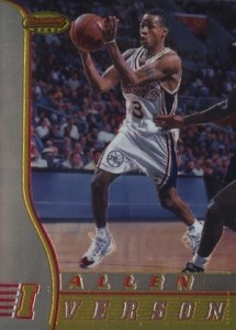 Allen Iverson Rookie Card Checklist and Gallery 1