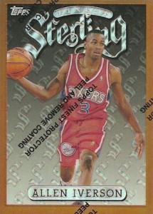 Allen Iverson Rookie Card Checklist and Gallery 4