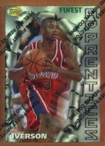 Allen Iverson Rookie Card Checklist and Gallery 3