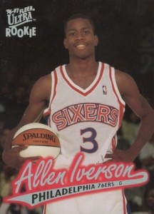 Allen Iverson Rookie Card Checklist and Gallery 11