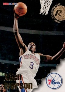 Allen Iverson Rookie Card Checklist and Gallery 12
