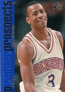 Allen Iverson Rookie Card Checklist and Gallery 16
