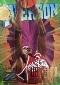 Allen Iverson Rookie Card Checklist and Gallery 15
