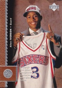 Allen Iverson Rookie Card Checklist and Gallery 21