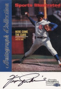 1999 Fleer Sports Illustrated Fergie Jenkins Autograph