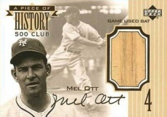 Top 10 Mel Ott Baseball Cards 5
