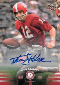 2012 Upper Deck Football Ken Stabler Autograph #12