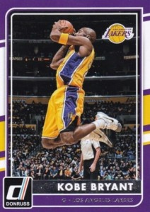 2015-16 Donruss Basketball Kobe Bryant