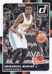2015-16 Donruss Basketball The Rookies