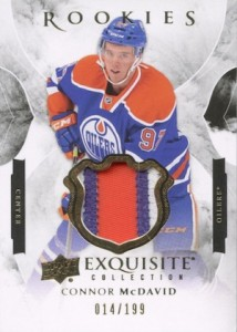2015-16 Exquisite Collection Rookies Connor McDavid Patch
