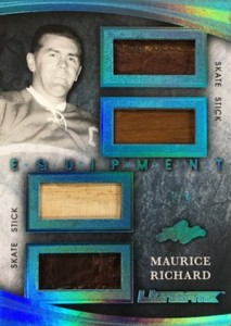 2015-16 Leaf Ultimate Hockey Equipment Maurice Richard